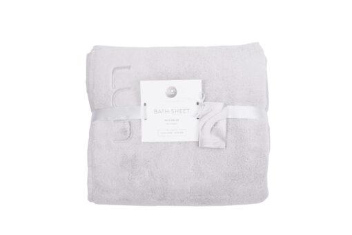 Bath Sheet 100x150 Pearl Grey-2
