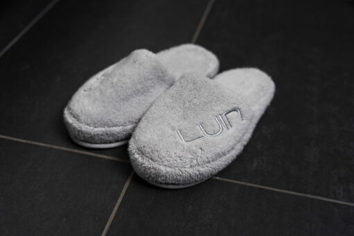 Cosy Slippers Pearl Grey (2)
